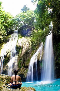 Masago Falls. Bohol, Phillippines