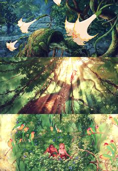 tumblr_ml3go7ZEvE1s8hc17o3_500.jpg (500×723)  Disney Tarzan  #disney #tarzan #conceptart