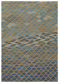 Flatweave area rug for lounge or library