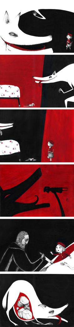 Little red riding hood by spowys on DeviantArt