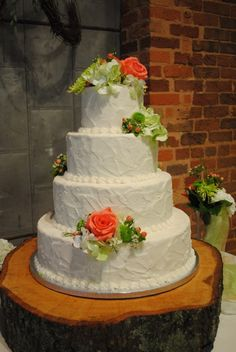 Buttercream Wedding Cake Options|Kathy and Company Wedding and Specialty Cakes| Wedding Cakes Upstate South Carolina| We | Kathy and Company's Wedding Cake Blog