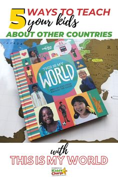 Today we take a look at one of Lonely Planet's Kids books today; a book which enables you to meet 84 kids from different countries: This is My World. Craft Activities For Kids, Educational Activities, Play Based Learning, Kids Learning, Parenting Articles, Parenting Hacks, Teacher Resources, Teaching Ideas, Planet For Kids