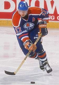 Jari Kurri (Edmonton Oilers) just the best all around right winger in the game.