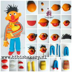 Sesame street is on at Bibi's Bakery. Now it's Ernies turn to shine. Here is his pictorial, have a wonderful weekend, xxx Bibi https://www.facebook.com/bibisbakery.nl #bibisbakery