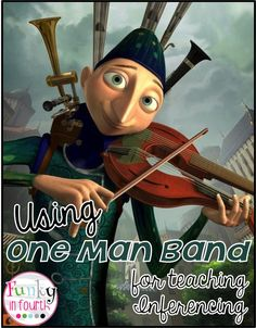Making Inferences with a Movie Short. Using One Man Band for Inferences with a freebie recording sheet from Funky in Fourth!  - repinned by @PediaStaff – Please Visit  ht.ly/63sNt for all our pediatric therapy pins