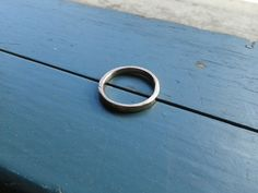 Hammered Bronze Ring by NinaRaizel on Etsy, $18.00