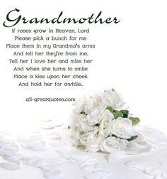 Happy Birthday in Heaven Grandma | In-Loving-Memory-Grandmother-If-Roses-Grow-In-Heaven-Lord.jpg: