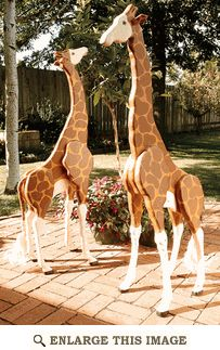 4-foot Giraffes Woodworking Plan. This would be awesome to have for a jungle theme in the classroom!