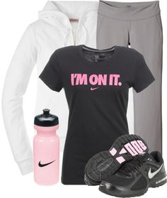 Im On It by qtpiekelso on Polyvore