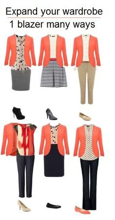 7 cute spring outfits with a blazer - Find more ideas at women-outfits.com