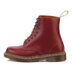 Dr Martens Unisex 1460 Oxblood (Vintage Made In England Range) Leather Shoes