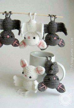 Crochet Bats