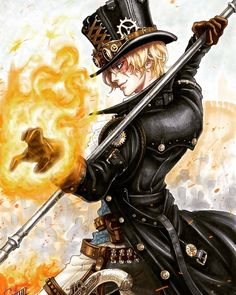 One Piece is listed (or ranked) 4 on the list 22 Steampunk Versions Of You. - One Piece -Sabo, One Piece is listed (or ranked) 4 on the list 22 Steampunk Versions Of You. - One Piece - Ace One Piece, One Piece Figure, One Piece Anime, One Piece Fanart, One Piece Luffy, Anime Yugioh, Anime Pokemon, Anime Plus, Manga Anime