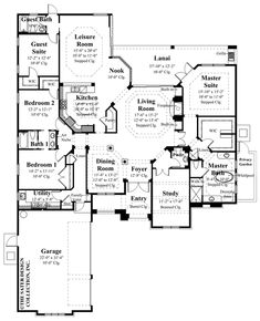 Exclusive American Country Home of 2,010 Sq.Ft. (HQ Plans & 20 ...