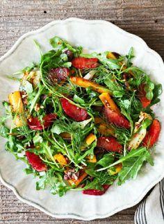 Low FODMAP Recipe and Gluten Free Recipe - Roasted carrot & blood orange salad  http://www.ibssano.com/low_fodmap_recipe_roatsed_carrot_blood_orange_salad.html