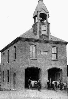 South End Engine House, Yarmouth, Nova Scotia Built in 1899 Destroyed by fire on January 18, 1991