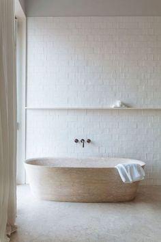 LD CAPE HOME REVEAL! Our Master Bathroom Design Details! Part 1 #bathroomdesign #bathroomideas #interiordesign Bathroom Renos, Bathroom Fixtures, Brass Bathroom, Remodled Bathrooms, Luxurious Bathrooms, Washroom, Concrete Bathroom, White Bathrooms, Diy Concrete