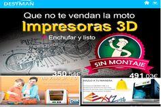 Oferta Impresoras 3D en Desyman