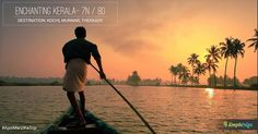 Kerala is one place in the riveting diversity of India where there is tangible beauty and a phenomenal thing like total literacy it is in Kerala  is a state full of good things. This small state at the southern tip of the Indian peninsula is an easy winner owing to its beautiful landscape intriguing customs high-intensity cultural life and an educated public so often dressed in white. #ApniMarziKaTrips #KmphTrips