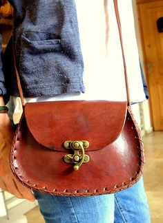 Handmade leather bag par Artellebodrum sur Etsy