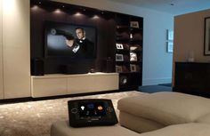 HiddenWires - Case Study: Family Home with Crestron AV, Lighting and Climate Control in Fulham, London, UK