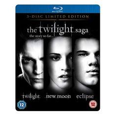 Twilight : les 3 films en blu-ray coffret collector métal édition limitée