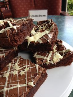 Mars bar chocolate brownies- a firm favorite with all of our customers.