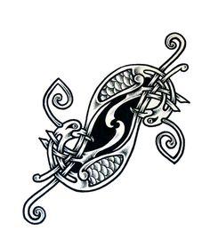 Celtic knot-bird by ~whiterose54 on deviantART