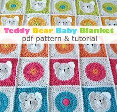 Doudou ours en peluche au Crochet pdf motif & par DadasPlace