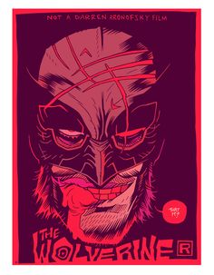 #Wolverine faux movie poster by Dan Hipp