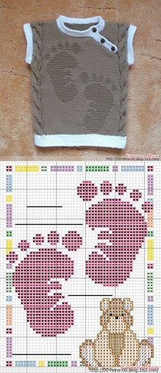 NHAD针织背心 - 蕾妮的日志 - 网易博客 | вязание | Постила