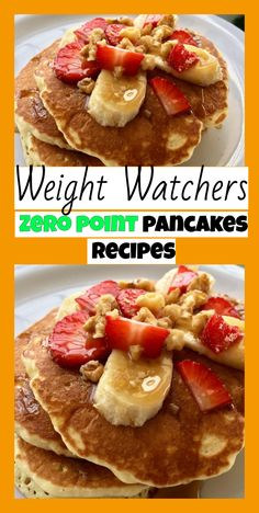 weight watchers Zero point pancakes recipe - Weight watchers recipes