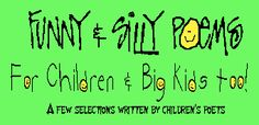 Funny & Silly Poems