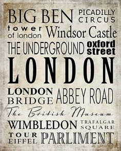 been to all of them- LOVE London
