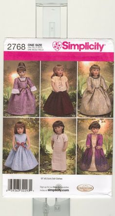 Free Copy of Pattern - Simplicity 2768