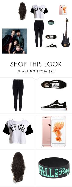 """GIRLSOS (Calum)"" by tameika-fangirl101 on Polyvore featuring AG Adriano Goldschmied, Vans and :CHOCOOLATE"