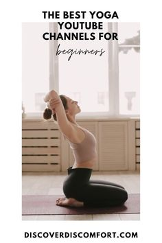 A quick look at the best channels for yoga on YouTube for beginners — after having done a whole bunch of videos. | best yoga youtube channels | yoga beginners learning | yoga beginners video | workouts at home | at home yoga workout | yoga workouts | how to start yoga | at home yoga for beginners | learn yoga at home #yoga #discoverdiscomfort Yoga Workouts, At Home Workouts, Yoga Videos For Beginners, Best Yoga Videos, 10 Minute Morning Yoga, Stretches For Runners, Yoga Youtube, Yoga At Home, How To Start Yoga