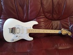 Jackson Adrian Smith Signature Electric Guitar in Snow White, Upgraded Spec Jackson Guitars, Adrian Smith, Snow White, Electric, Music Instruments, People, Pictures, Ebay, Photos