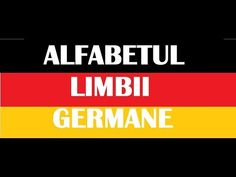 GRAMATICA LIMBII GERMANE - YouTube Signs, Youtube, Deutsch, Novelty Signs, Sign, Youtubers, Dishes, Youtube Movies