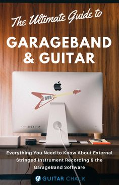 The ultimate guide to GarageBand and the guitar, covering recording setups, tips & best practices as well as tweaking and post-production topics. https://www.guitarchalk.com/garageband-guitar/ #guitar #garageband #mac #recording #homestudio