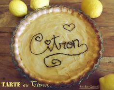 Sophie de So So Good : la tarte au citron pour Emeline de Mignardises et cie