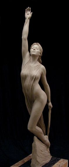 Benjamin Matthew Victor (January 16, 1979 in Taft, CA) is an American sculptor and Artist-in-Residence and Professor of the Practice at Boise State University Bronze (shown in clay), life-size, 2013
