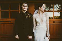 Wedding Dress Ivory Wedding Dress Crepe and by ACreativeAtelier