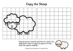Grid copy sheep