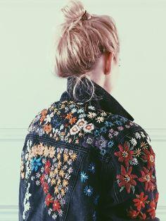 Stitch artist Tessa Perlow. Incl. stitch pattern. @burdastyle