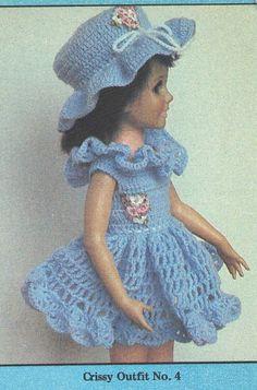FAIRY PRINCESS DOLL - A downloadable vintage 1951 crochet pattern.