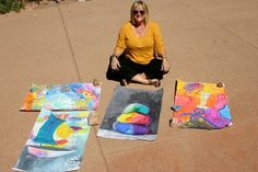 Total Alignment Retreat hosted by Dirty Footprints Studio in Sedona, Arizona. http://www.dirtyfootprints-studio.com/2008/05/total-alignment-fearless-painting.html