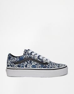 Vans Old Skool Liberty Floral Print Trainers