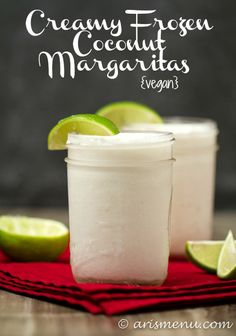 Thick and creamy frozen coconut margaritas beat anything you could order at a restaurant. Naturally sweetened with no sour mix, and blended ...