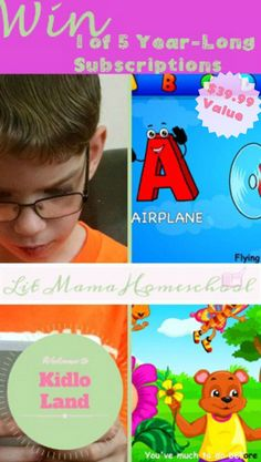 Enter to win a Kidloland app from Lit Mama Homeschool